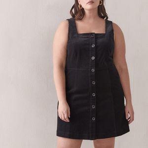 Addition Elle | Corduroy A-Line Mini Dress